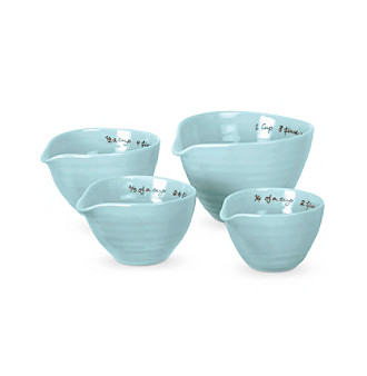 Set of Four Sophie Conran for Portmeirion® Celedon Measuring Cups