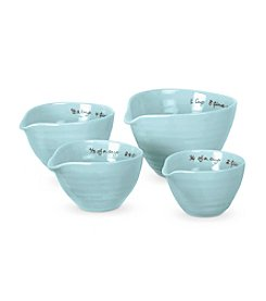 Set of Four Sophie Conran for Portmeirion® Celedon Measuring Cups