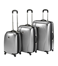 Heys® xCase Metallic Hardside 3-pc. Spinner Luggage Set