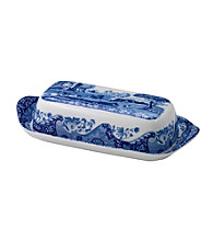 Spode® Blue Italian Covered Butter Dish