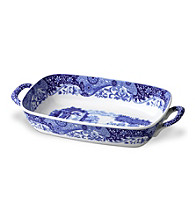 Spode® Blue Italian Handled Serving Dish