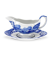 Spode® Blue Italian 9-oz. Sauceboat and Stand