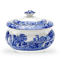Spode® Blue Italian 9-oz. Covered Sugar Bowl