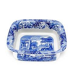 Spode® Blue Italian Square Dish