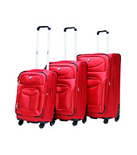 CalPak Langley 3-Piece Expandable Soft-Sided Luggage