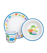 Reed & Barton® Jungle Parade 3-pc. Melamine Dinnerware Set