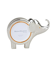 Reed & Barton® Jungle Parade Silverplate Elephant Picture Frame