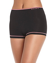 DKNY® Tummy Manager Boyleg Briefs - Black