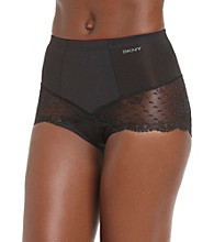 DKNY® Lace Curve Briefs - Black