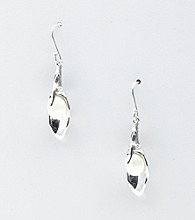 Hagit Gorali Sterling Silver Petal Drop Earrings