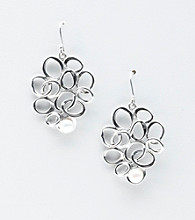Hagit Gorali Sterling Silver Bubble Design Earrings
