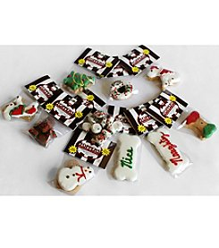 Foppers® Gourmet Pet Treat Bakery 10 2-oz. Bags of Holiday Dog Treat Gifts