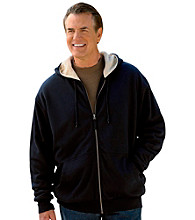 Harbor Bay® Men's Big & Tall Black Storm Hoodie