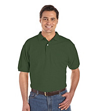 Harbor Bay® Men's Big & Tall Cotton Pique Polo