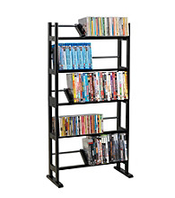 Atlantic Element 5 Shelf Open Style Multimedia Storage Rack