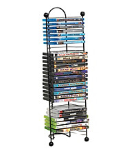 Atlantic Nestable Space Saving 32 Disc Storage Tower
