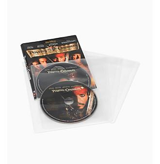 Atlantic 25 Pack of Clear Disc Sleeves