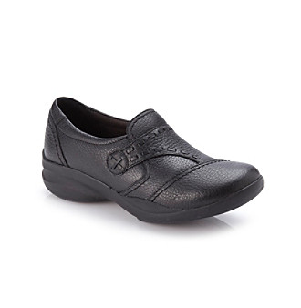 "Clarks® ""In-Motion Camp"" Black Casual Step-in Shoe"
