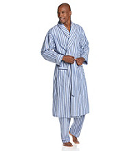Nautica® Men's Cornflower Blue Sultan Stripe Robe