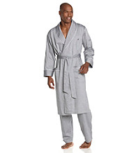 Nautica® Men's Anthracite Captain's Herringbone Robe