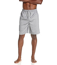 Nautica® Men's Anthracite Captain's Herringbone Sleep Shorts