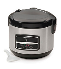 Presto® 16-Cup Digital Stainless Steel Rice Cooker/Steamer