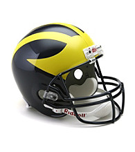 Riddell® Michigan Full-Size Replica Helmet
