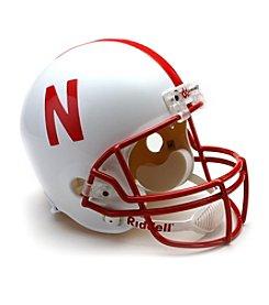 Riddell® Nebraska Full-Size Replica Helmet