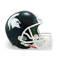 Riddell® Michigan State Full-Size Replica Helmet