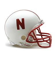 Riddell® Nebraska Replica Mini Helmet