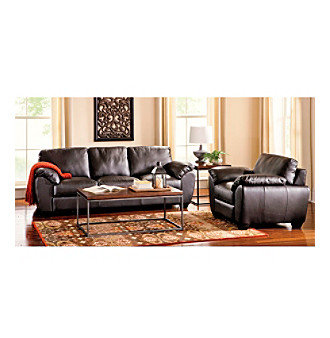 Palliser Massi Leather Sofa & Chair Living Room Furniture Collection