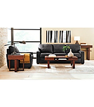Palliser Westend Onyx Leather Sofa & Chair Living Room Furniture Collection