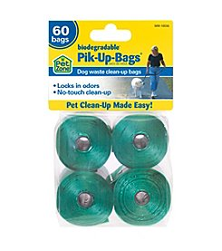 Pet Zone® 60-pk Biodegradable Pik-Up Bags