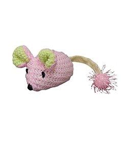 Play-N-Squeak Wee PinkieMouse Kitten Toy