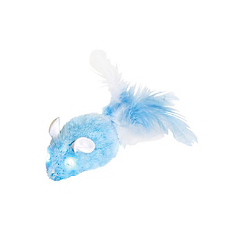 Play-N-Squeak Twinkle Mouse Cat Toy