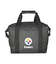 TNT Media Group Pittsburgh Steelers 12-pk. Black Kooler Bag™
