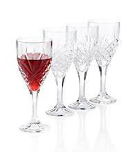 Godinger® Dublin Set of 4 Wine Goblets