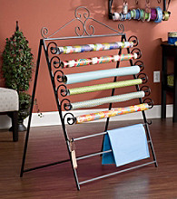 Holly & Martin™ Evelyn Black Easel/Wall Mount Craft Storage Rack