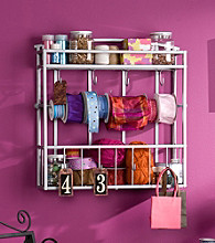 Southern Enterprises Wall Mount Craft Storage Rack