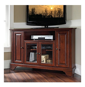 "Crosley Furniture LaFayette 48"" Corner TV Stand"
