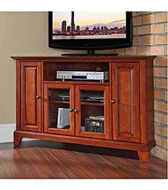 "Crosley Furniture Newport 48"" Corner TV Stand"