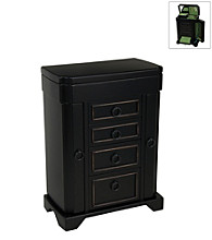 Mele & Co. Phoebe Upright Jewelry Box - Black