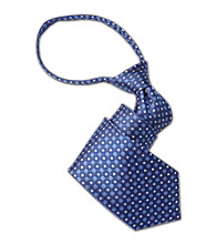 Gold Series™ Men's Big & Tall Neat Silk Zipper Tie