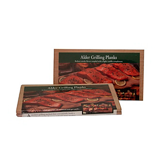 "Nature's Cuisine Two Count 5.5x10x5/16"" Alder Grilling Planks"
