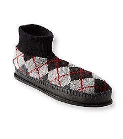 MUK LUKS Men's Argyle Slippers