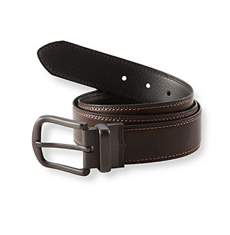 Levi's® Men's Black/Brown Reversible Logo Buckle Belt
