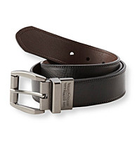Levi's® Men's Black/Brown Laminate Reversible Belt