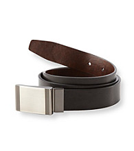 John Bartlett Statements Men's Black/Brown Reversible Belt
