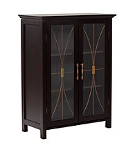 Elegant Home Fashions® Delaney 34x26 Floor Cabinet - Dark Espresso