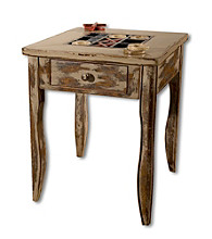 Uttermost Tictactoe End Table